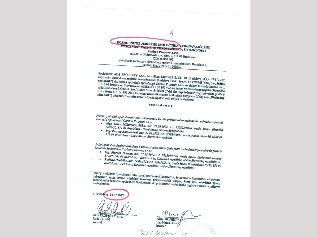 d637724ed9b8e MIKURČÍK: Súdni úradníci prekročili právomoci v spore o hotel ...